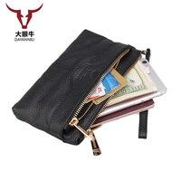 Women Leather Wallet Long Purse Wallet Luxury Male Genuine Leather Wallet Zipper Purse Male Wallet Leather