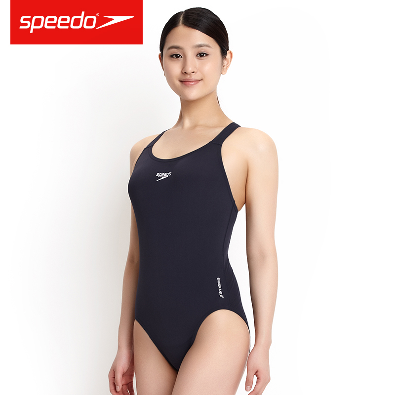 Speedo Women's Essential Endurance+ Medalist Swimsuit Training Swimwear One-piece Aquatic Moderate Competition Swim Suit(China)