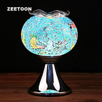 220V Electricity Essential Oil Lamp Perfume Diffuser SPA Glass Incense Burner Aromatherapy Base Home Decor Wedding Ornament New