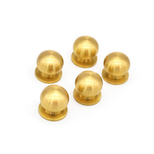 Solid Brass Mini Drawer Knobs Cabinet Knobs and Handles Furniture Handle Cabinet Pulls Drawer Pulls Kitchen Knobs