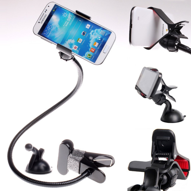7cdd99d6029 Universal Flexible Long Arms Mobile Phone Holder Desktop Bed Lazy Bracket  Mobile Stand Support all Mobiles