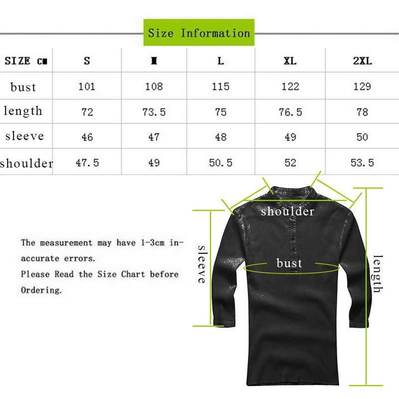 Laamei 男性カジュアルシャツ長袖固体レースアップチュニックトップス男性ヴィンテージスリム男性ブラウスシュミーズ 2019 秋プラスサイズ S-3XL