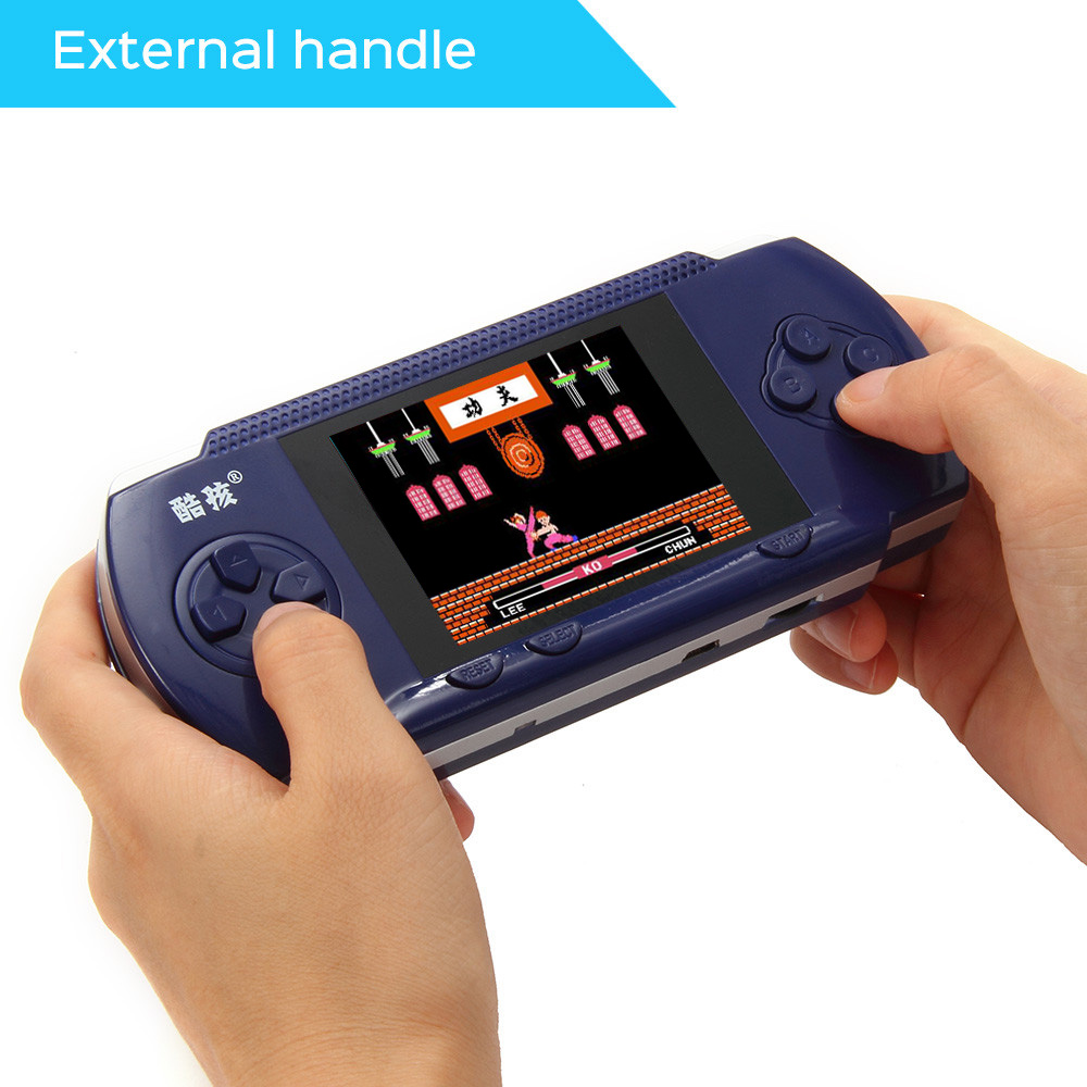 Portable RS-2A Handheld Game Players 3.2 Video Game Console For kids 300 Classical Game Double Handle External Support AV Port