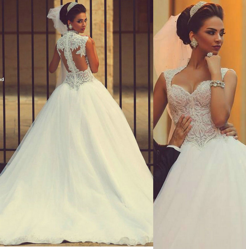 Самые красивые свадебное платье 2015