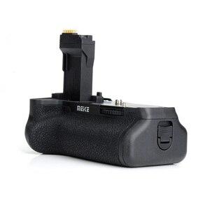 Image 4 - マイクスMK 760D垂直バッテリーグリップホルダー用キヤノン750D 760D LP E17としてBG E18、カメラバッテリーハンドル用キヤノン750D 760D
