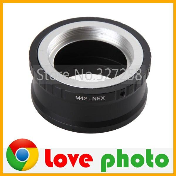 Lens Mount Adapter anneau M42 - M42 pour NEX Lens et SONY NEX E mont corps NEX3 NEX5 NEX5N NEX7 NEX-C3 NEX - f3 NEX - 5r NEX6 PRR04