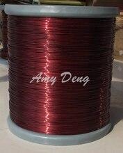100 м/лот Бесплатная доставка 1.3 мм полиэстер эмалированные круглые медные провода, QZ-2-155