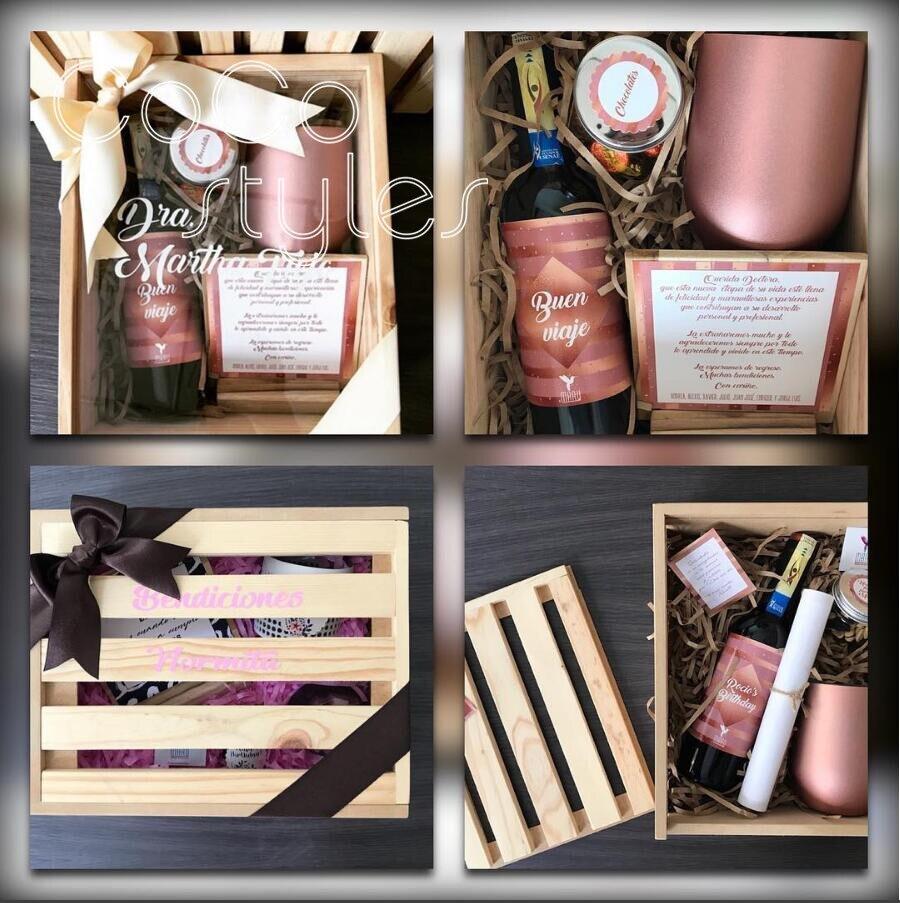 Caisse en bois de jardin faite sur commande de Cocostyles avec le ruban pour la boîte de cadeau de bienvenue d'événement de noce et la boîte-cadeau de merci