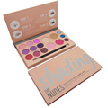Pro 16 color Mate Sombra de Ojos Paleta de colores de Maquillaje Nude Sombra de Ojos Brillo brillo Mineral Corrector Cosméticos Make up set Kit