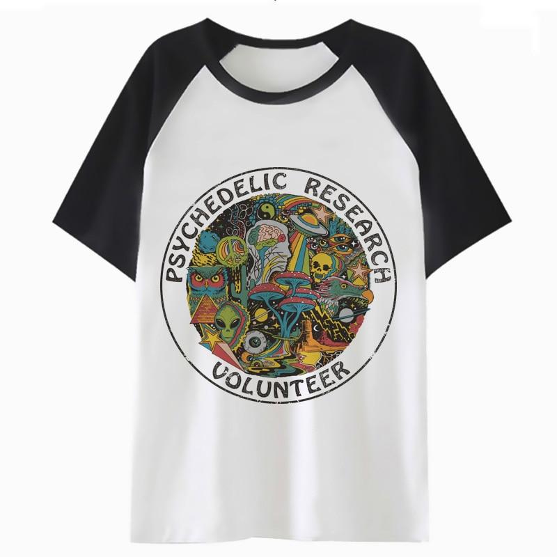 Psychedelic   t     shirt   harajuku hop male tee hip   t  -  shirt   tshirt men top streetwear clothing for funny F4582