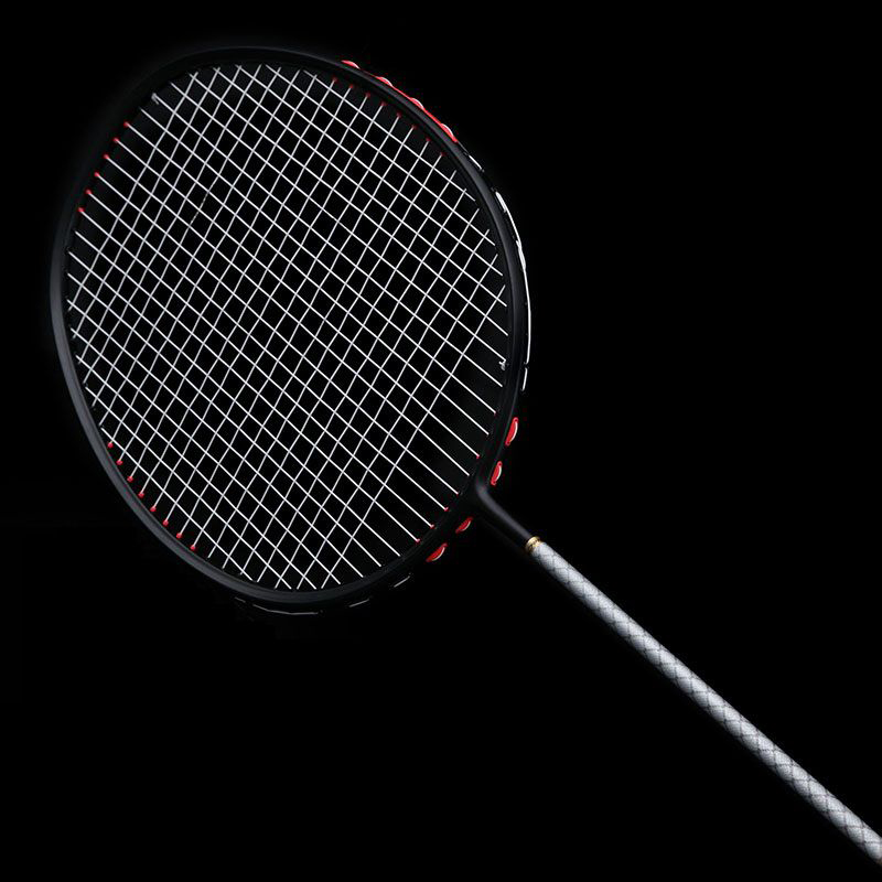 Локи Скорость Smash углерода ракетки для бадминтона супер легкий наступление нанизаны ракетки для бадминтона 75 г 22-32 кг