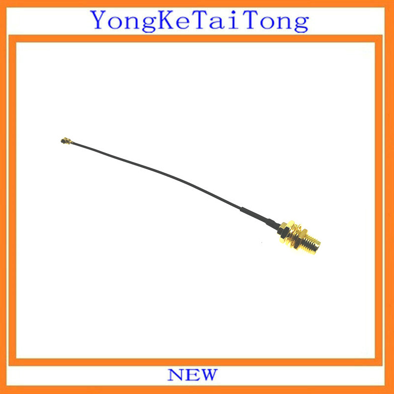 Image 2 - 100PCS RF SMA Connector Cable Female to uFL/u.FL/IPX/IPEX RF Or NO Connector Coax Adapter Assembly Pigtail Cable 1.13mm-in Integrated Circuits from Electronic Components & Supplies