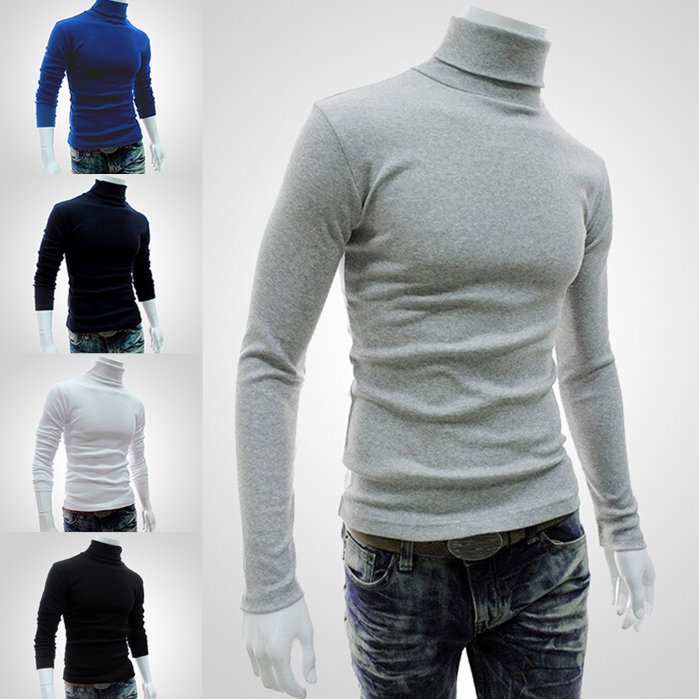 Turtleneck sweater period and the new men's high collar sweater ...