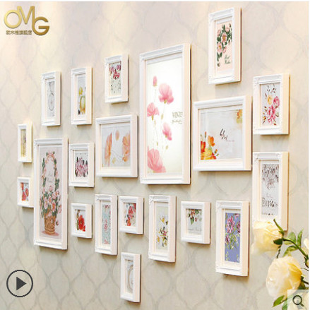 free shipping multi photo frames wallmemory cheap picture framepeople favorite white wood picture frames lotmarcos para fotos