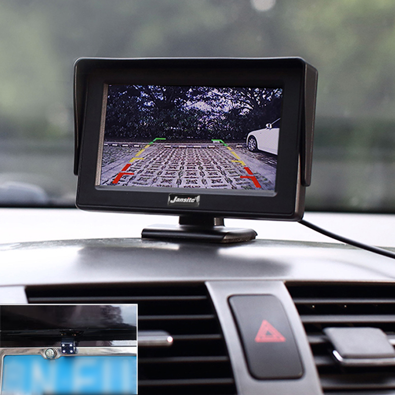 Car Monitor 4 3 quot Screen For Rear View Reverse Camera TFT LCD Display HD Digital Color 4 3 Inch PAL NTSC 480 x 272 in Car Monitors from Automobiles amp Motorcycles