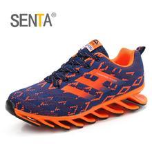 Sports Entertainment - Sneakers - SENTA 2017 Blade Running Shoes For Men Antiskid Damping Cool Outsole Walking Trekking Leisure Summer Running Zapatills Sneakers