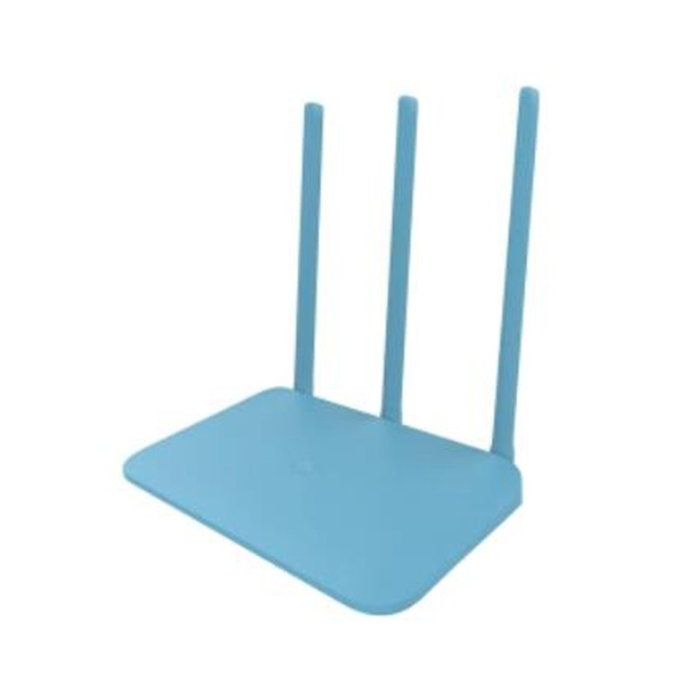 Xiao mi mi router 4Q 3 ANTENNES blauw Draadloze 2,4g 802.11b/g/n 450 mbps APP Controle 64 mt ROM/RAM Wifi Draadloze Router