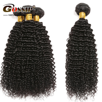 Afro Kinky Curly Hair Weave Bundles 8 28 Non Remy Human Hair Bundles Gossip Brazilian Hair Weave Bundles Gossip Hair Extension