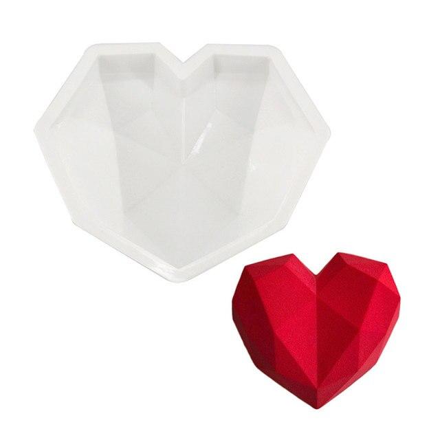 3d Kuchen Form Herz Form Silikon Backformen Fur Schwamm Kuchen
