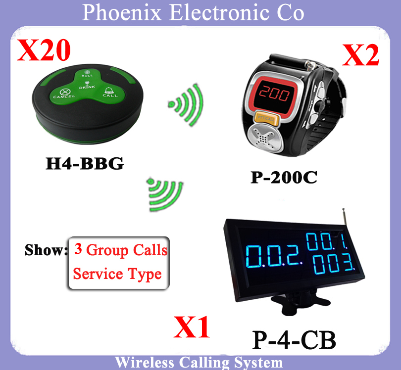 Waiter Restaurant Guest Paging System including Wrist Pager Watch, Call Bell Button  And Display Receiver Show Customer Service 1 watch receiver 8 call button 433mhz wireless calling paging system guest service pager restaurant equipments f3258