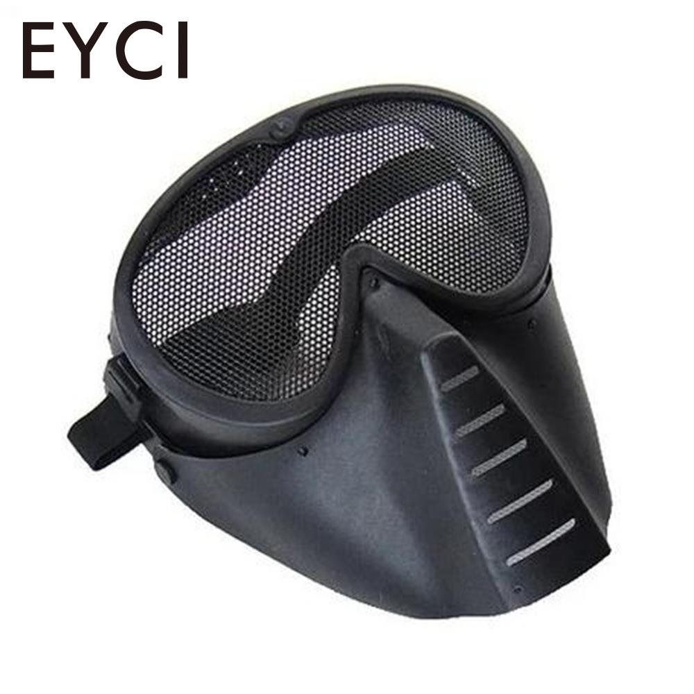 Airsoft Gas Mask Field Equipment CS Face Mask Black Mud Color Cycling Bike Accessories