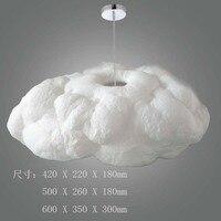 A1 modern art cloud Pendant Lights Creative decorative lamp lamp living room bedroom Hotel clubhouse silk cloud Pendant lamps