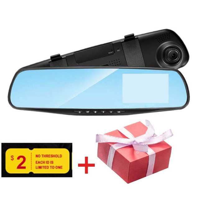 CHARONPLU DVR Dash Camera Dash Cam Car Dash Camera Mirror Dash Cam 4k/Con  Vision Nocturna Driving Recorder Rearview Auto Camera