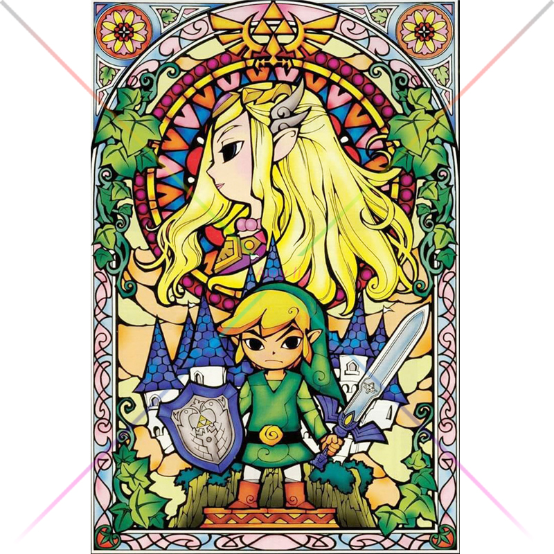 5d Diy <font><b>Diamond</b></font> <font><b>Painting</b></font> The <font><b>Legend</b></font> <font><b>Of</b></font> <font><b>Zelda</b></font> Skyward Sword Cartoon Rhinestone <font><b>painting</b></font> crystal <font><b>Diamond</b></font> Cross Stitch mosaic kits image