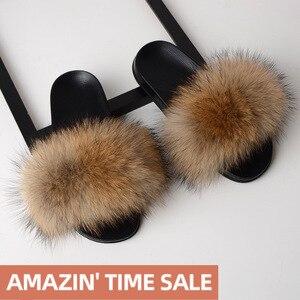 SARSALLYA Fur Slippers Women R