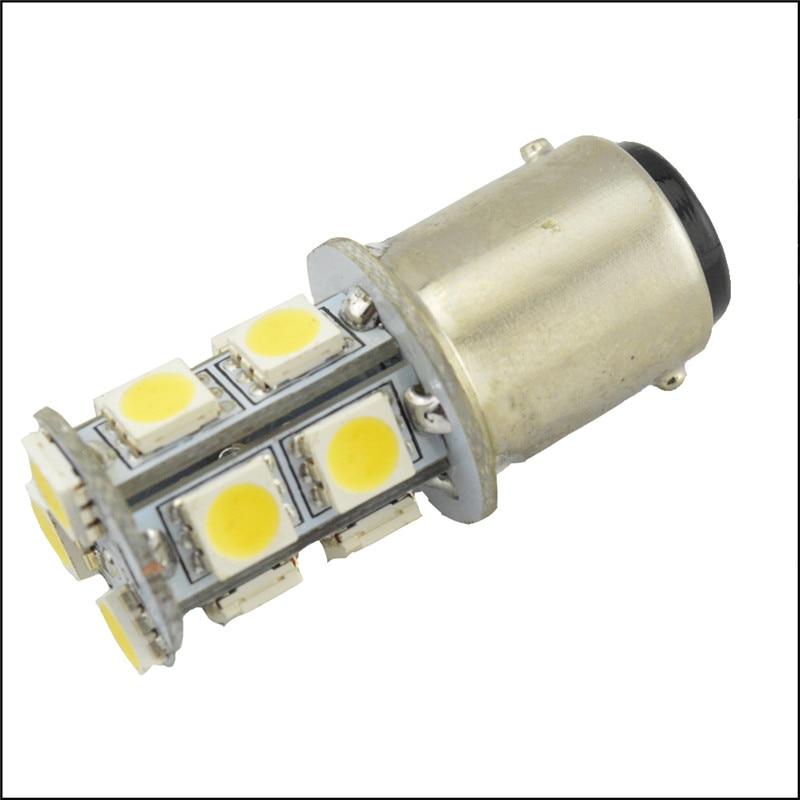 2pcs Ba15d 13smd 5050 White Rv Interior Led 10 30v Bulb Rv Trailer Replacement Led Light Bulb