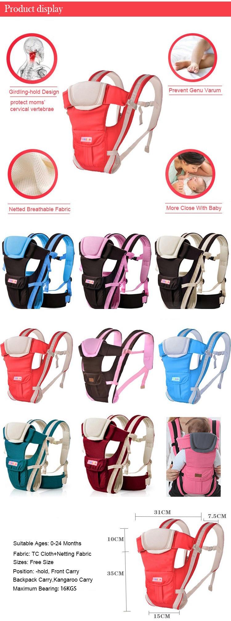 Wrap noszenia niemowląt dziecka 1