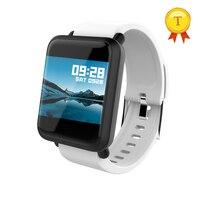 Smart Uhr Fitness Tracker 1,22 Zoll Farbe Bildschirm Kalorien Aufzeichnungen Sitzende Erinnerung Sport Armband armbanduhr Für android ios