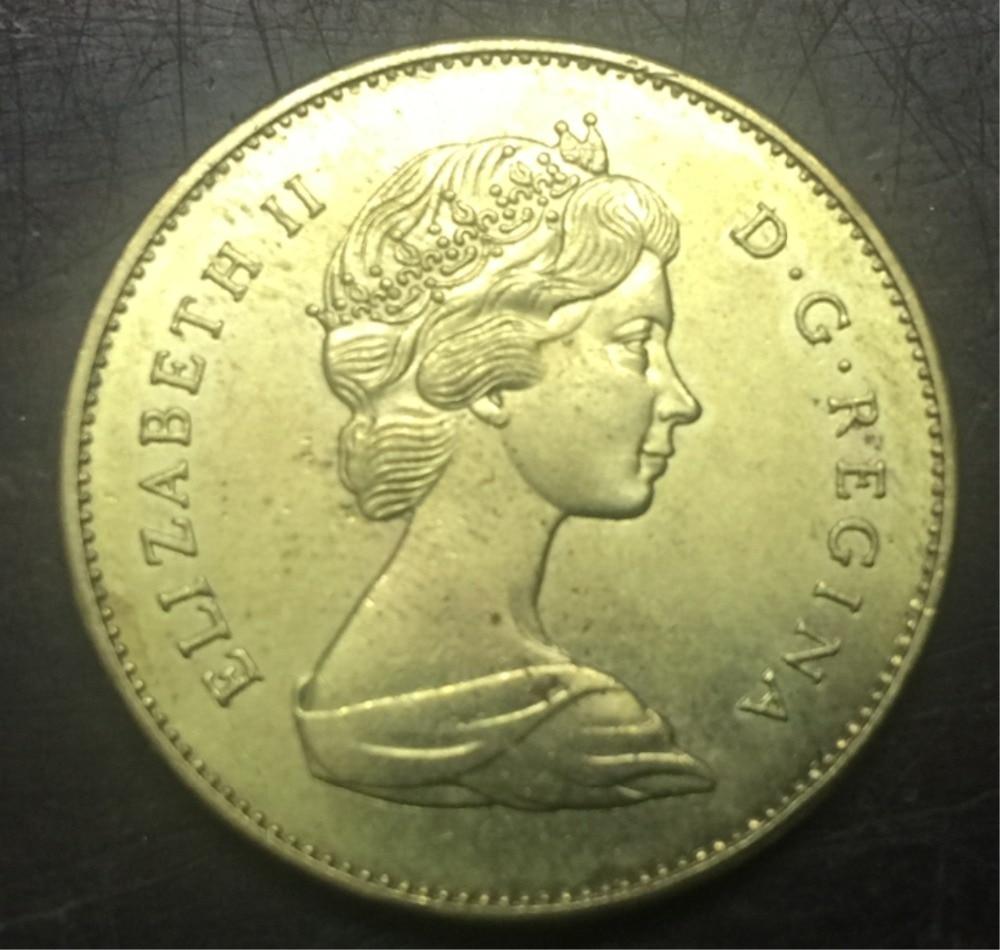 1967 Canada 20 Dollars Gold Copy Coin