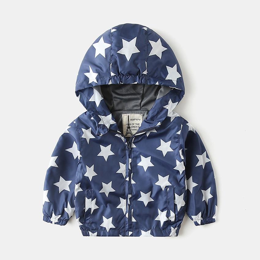 Benemaker wiatrówka dla chłopców dziewcząt kurtki światła 2 8Y odzież dzieci płaszcze z kapturem kreskówki odzieży wierzchniej dla dzieci dzieci