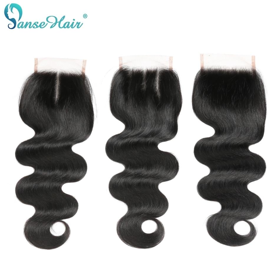 Panse Hair brazil haj test hullám emberi haj 3 csomó csipke - Emberi haj (fekete) - Fénykép 6