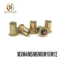 M3 M4 M5 M6 M8 M10 Hollow Rivet Set Zinc Plated Carbon Steel Rivets Threaded Rivet For Metal Plates Tubes Fasteners Tools(China)