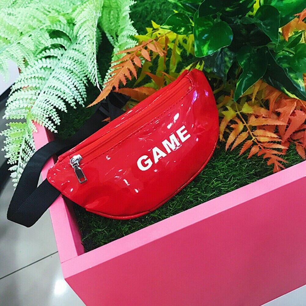 Модная новинка, детская сумка на пояс для маленьких девочек, сумка для спорта на открытом воздухе, сумка с ремнем, сумка для путешествий - Цвет: Красный