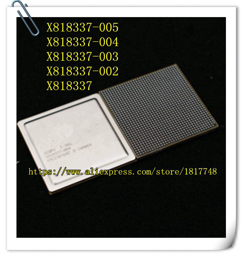 Free Shipping 1PCS X818337 X818337-005 X818337-004 X818337-003 X818337-002 BGA IC  Select the appropriate suffix select indoor five 852708 003 размер 4