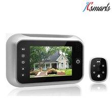 3.5″ LCD Display Electronic Door Bell Viewer IR Night Vision Door Peephole Camera Photo/Video Recording Digital Door Camera