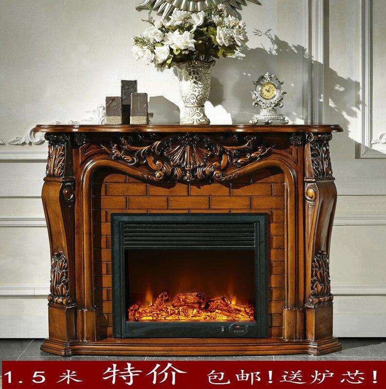 Estilo americano del env o libre especial 1 5 m led - Chimeneas decorativas en madera ...