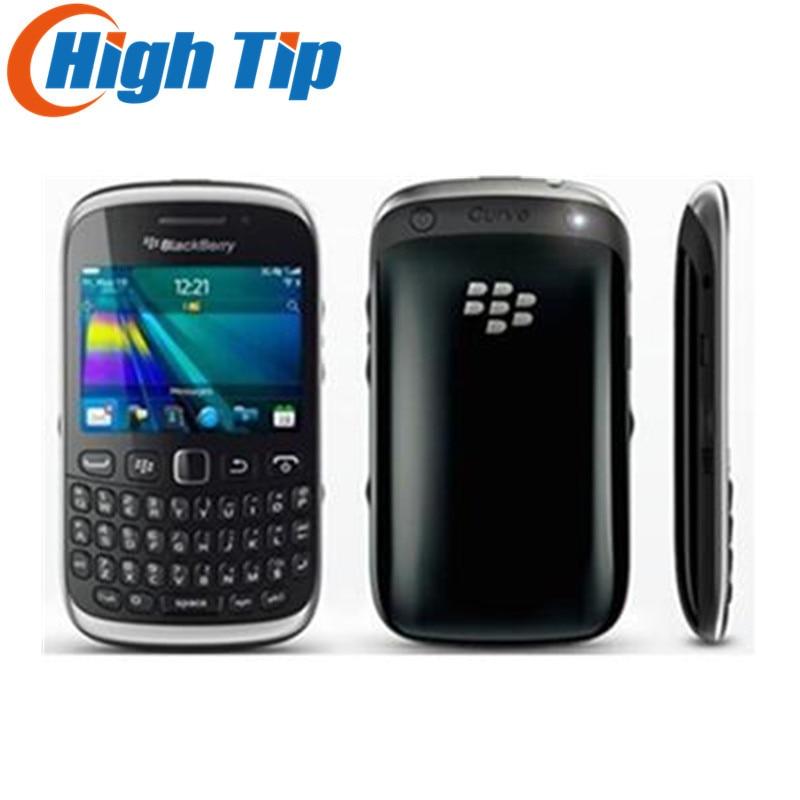 Original Unlocked BlackBerry Curve 9320 GPS WIFI GSM 3G QWERTY Keyboard WIFI 3 2MP Refurbished Mobile