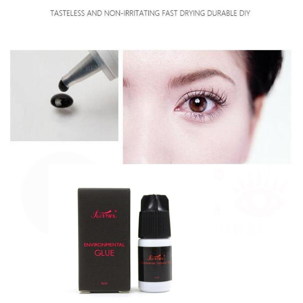 Eyelash Adhesive Cola para cílios À Prova D' Água Portátil Nenhum Odor Nenhum Irritação Rápida Seca de Longa Duração Enxertia Cílios Falsos Adesivo D3