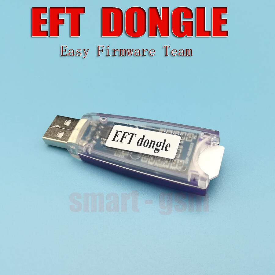 US $64 3 |2018 original EFT Dongle Easy Firmware Team Dongle for protected  software for unlocking, flashing, and repairing smart phones-in Telecom