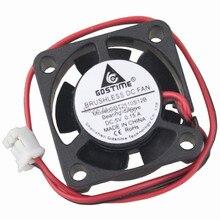 цена на 20pcs/lot  5V 2pin 2510s 25 x 25 x 10mm 25MM Cooling Mini DC Fan Cooler 2.5CM