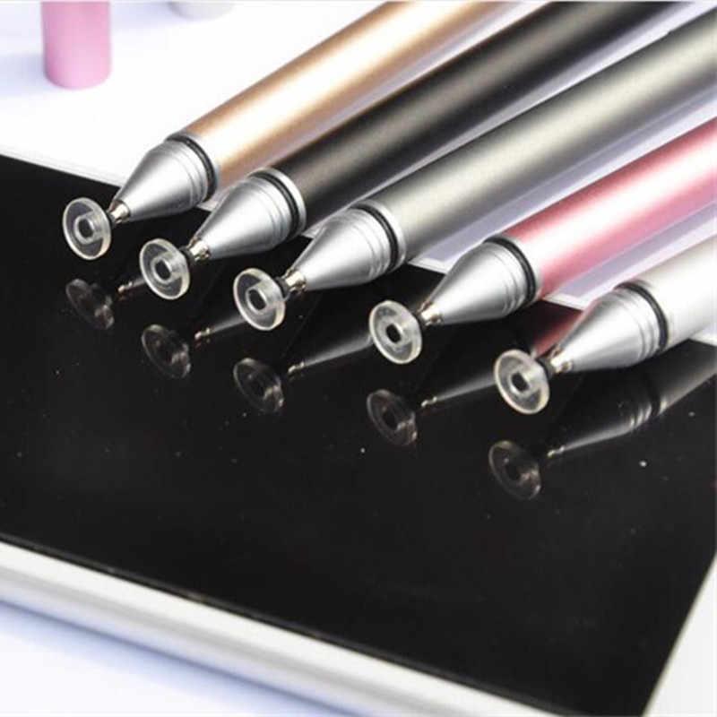 Estilete genérico para tablet telefone tela capacitiva lápis escrever desenhar caneta de toque para ipad apto iphone adequado todo o dispositivo android