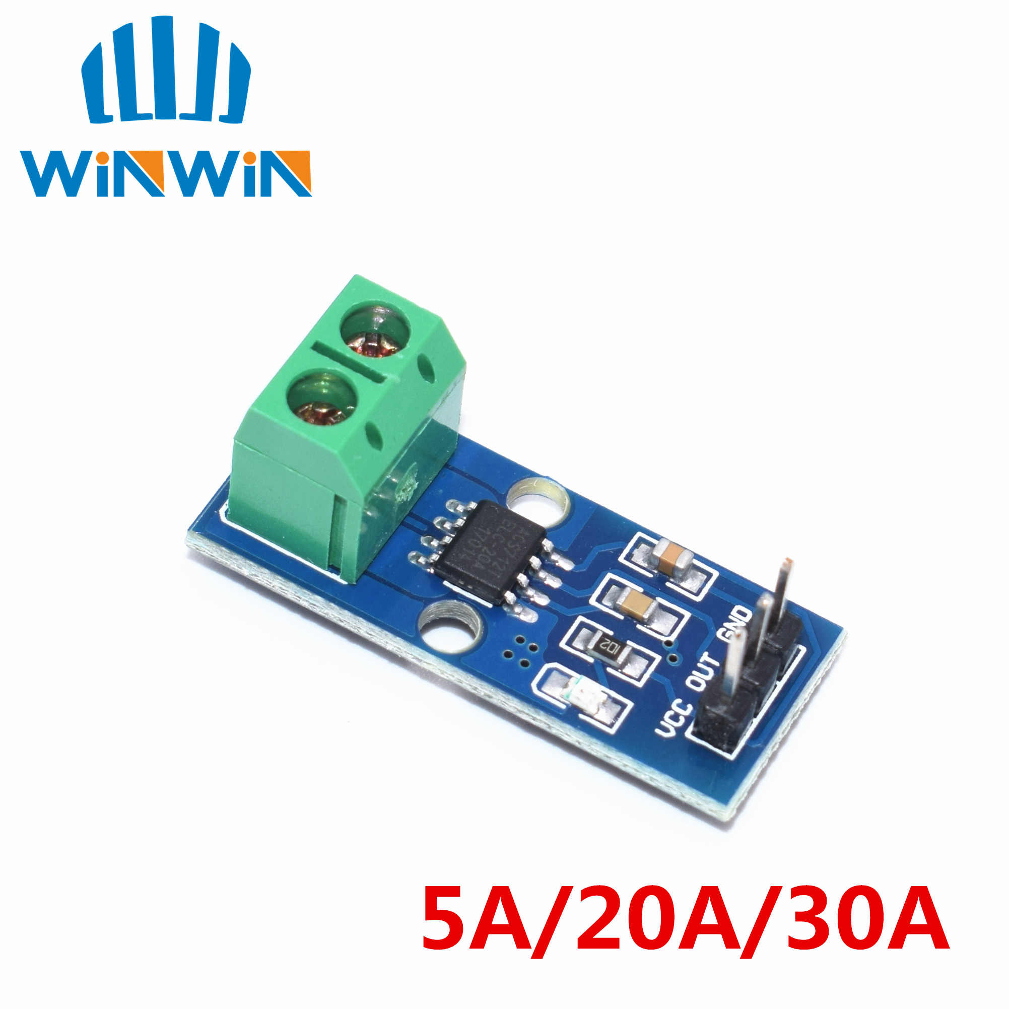 1pcs ACS712 5A/ACS712 20A/ACS712 30A Hall Current Sensor Module ACS712 model  ACS712 5A 20A 30A