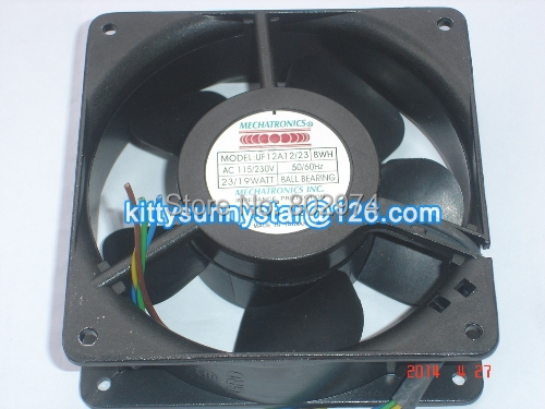 Mulfan 12038 UF12A12/23 115/230V 50/60Hz 23/19W Cooling Fan
