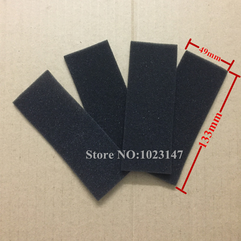 4 pieces/lot robotic Vacuum Cleaner Sponge Filter for ecovacs CEN550 5 pieces lot ariete robotic cleaner hepa filter replacement for ariete briciola 2711 2712 2713 easyhome 2717