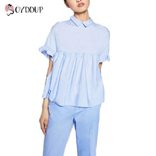 Женские блузки и Рубашки 2017 DDUP15