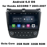 2GB RAM 10 1 Octa Core Android 6 0 Car Audio DVD Player For Honda Accord